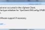 رفع اشکال در هنگام ویرایش کردن ماشین مجازی در vspher